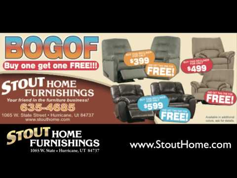 Buy 1 Get 1 Free Recliner Sale - Stout Home Furnishings