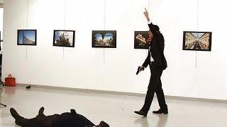 Russian Ambassador to Turkey assassinated in Ankara