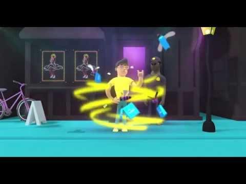 buzfiz Online Shopping App 3D Animated Promo Video