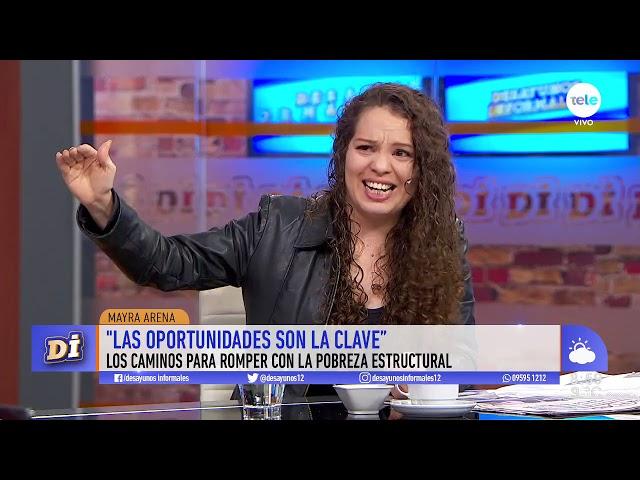 Entrevista a Mayra Arena, la joven que habló sobre su vida en la pobreza y se hizo escuchar