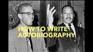How to write AUTOBIOGRAPHY teach learn language arts writing COMMON CORE