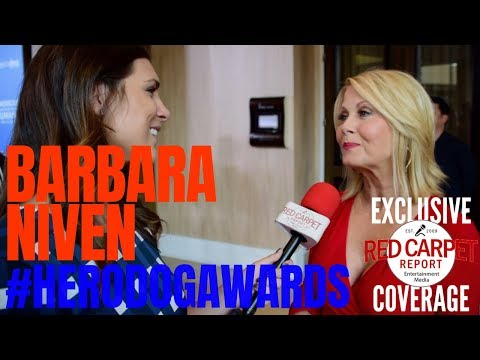 Barbara Niven ed at 2018 American Humane Hero Dog Awards Watch on 1024 HallmarkChannel