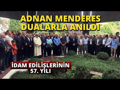 Adnan Menderes Kabri Başında Dualarla Anıldı