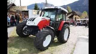 STEYR tractor video