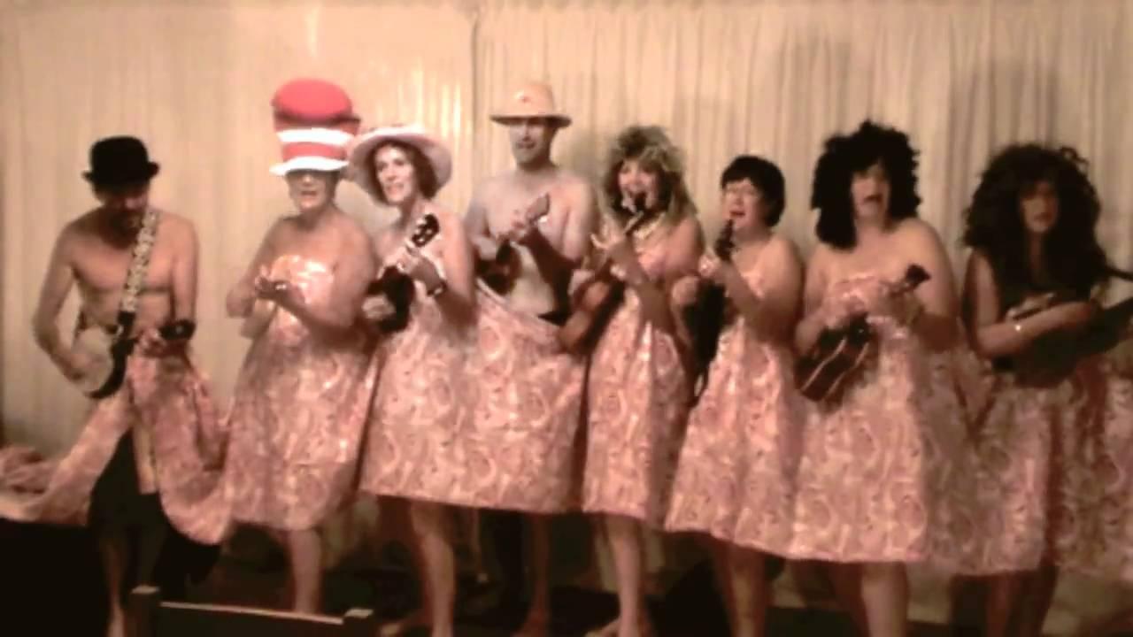 Not Naked Hitachi Waiakekey Ukulele Orchestra - YouTube