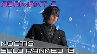 NOCTIS SOFT REWORK? DIssidia Final Fantasy NT (DFFNT) - Noctis Ranked Solo Matches 13 [Adamant C]
