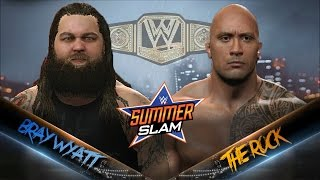 Teaser: Bray Wyatt (c) vs The Rock | WWE Championship | Last Man Standing (WWE 2K16 Universe)