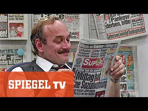 """""""Bild"""" gegen """"Super!""""-Zeitung am Tag der Deutschen Einheit (1991)"""