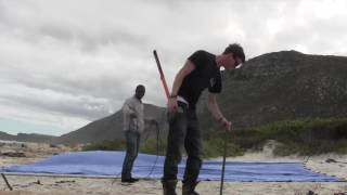 How to set up a stretch tent - Stretch Inc, Cape Town