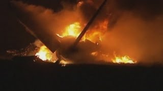 Alabama UPS cargo plane crash: Birmingham mayor confirms two dead