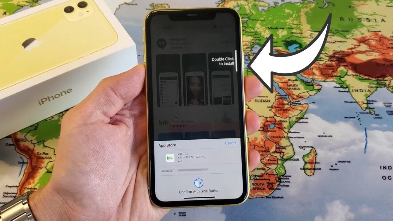 iPhone 20 / 20 Pro Max How to Download/Install Apps Double Click to  Install
