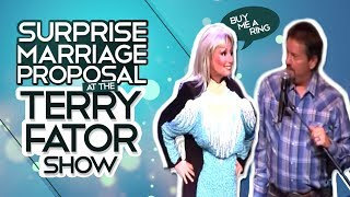 Marriage Proposal at the Terry Fator Show