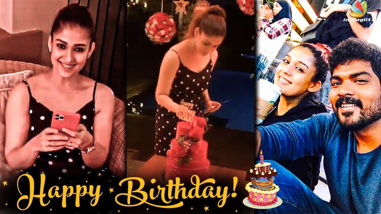 Nayanthara's Romantic Surprise to Vignesh Shivan | Birthday, Goa Diaries, Mookuthi Amman | TamilNews