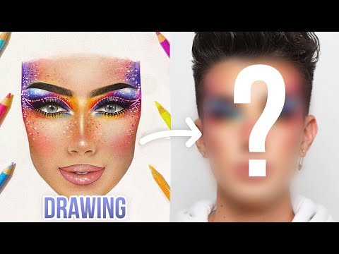 RECREATING MY FOLLOWER'S MAKEUP FACECHARTS!