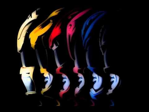 Go Go Power Rangers - Instrumental from MIDI file