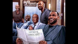 LeBron Passes Wilt Chamberlain for 5th in All-Time Scoring, Sinks 5 3s vs. Blazers