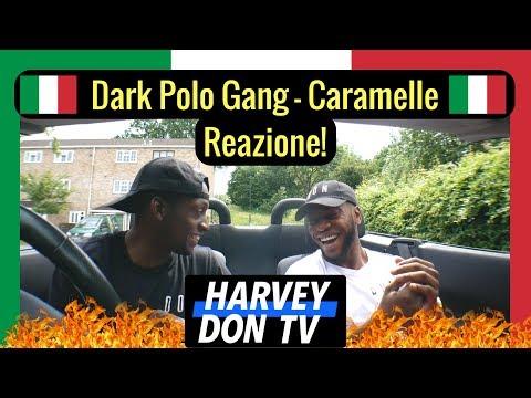 DARK POLO GANG - CARAMELLE Feat. MARÏNA - Reazione