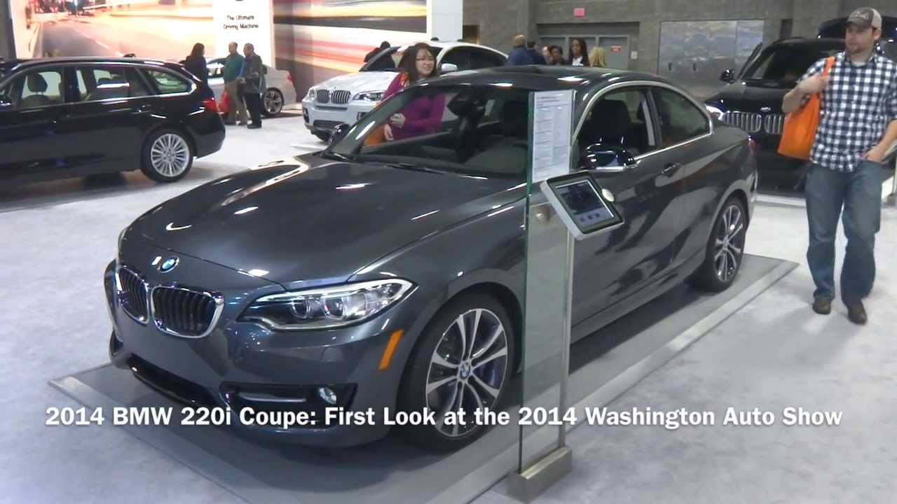 2014 bmw 220i coupe first look at the 2014 washington. Black Bedroom Furniture Sets. Home Design Ideas