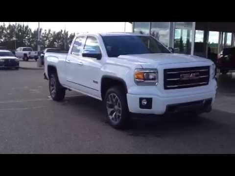 brand new 2014 gmc sierra 1500 slt all terrain for sale in medicine hat youtube. Black Bedroom Furniture Sets. Home Design Ideas