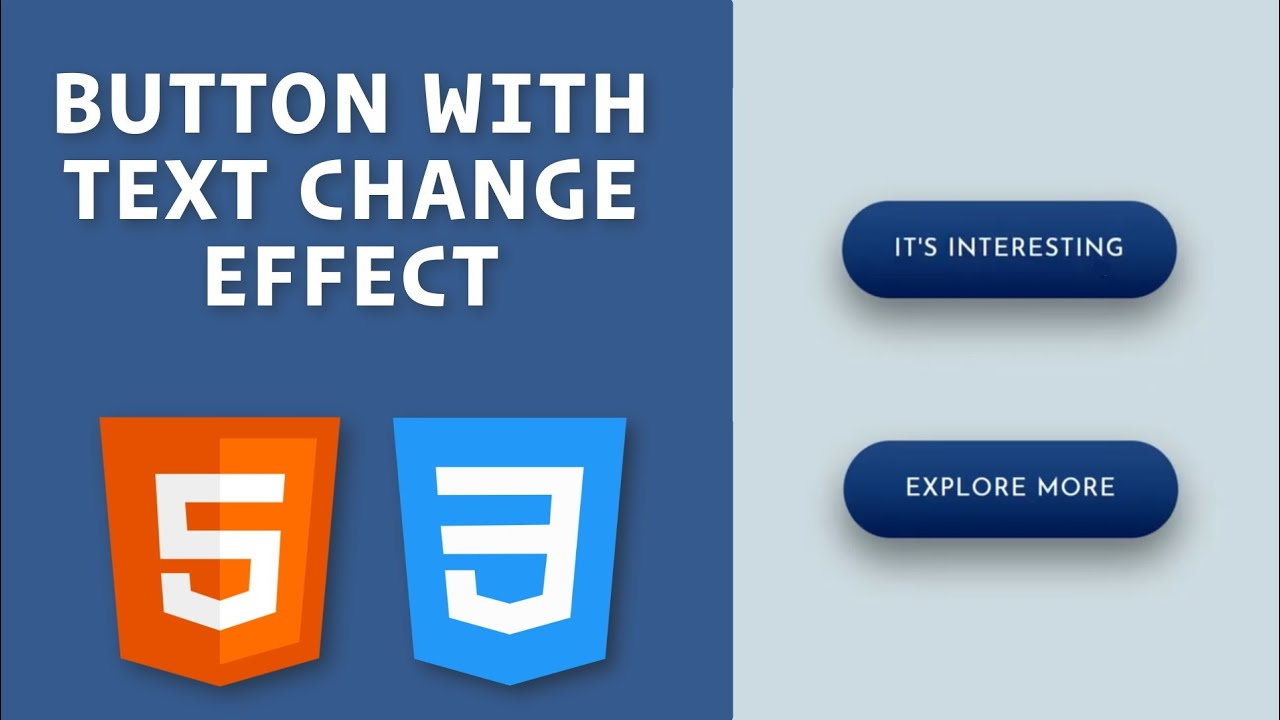 Creative Button using HTML and CSS