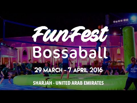 Thrilling sports - Bossaball highlights festival in the United Arab Emirates