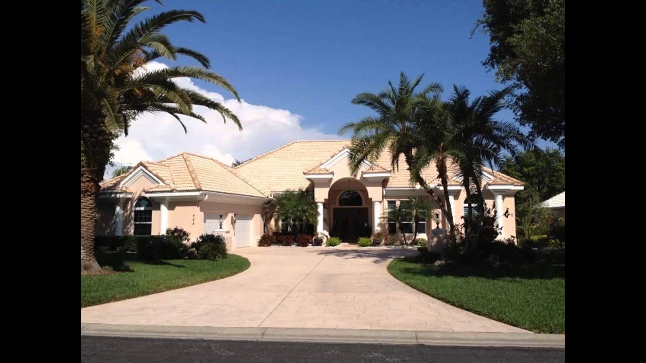 plantation venice fl golf homes for sale youtube