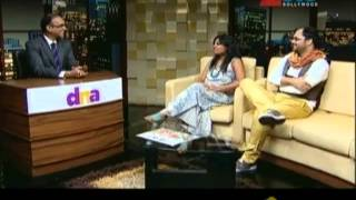 Garima - Siddharth (Ram-Leela Writers) with Komal Nahta