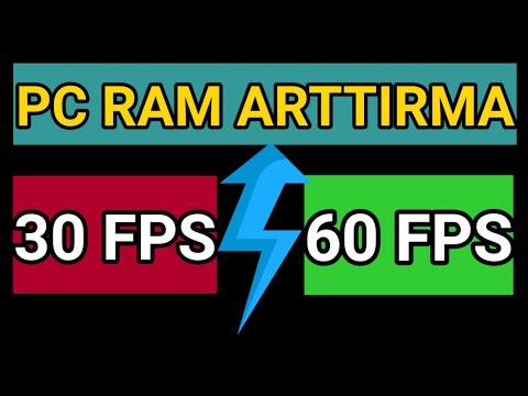 100 GB RAM 💥 PC RAM VE FPS ARTTIRMA | READYBOOST |