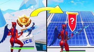 SECRET BANNER WEEK 8 SEASON 7 LOCATION! Fortnite Challenges – WEEK 8 SECRET BATTLE STAR REPLACED