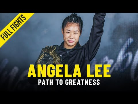 Angela Lee's Path To Greatness | ONE Full Fights & Features