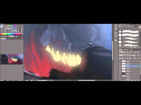 Digital Painting: Process and Techniques to Help Improve Your Artwork - 1/4
