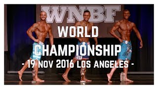 2nd PLACE WNBF WORLD CHAMPIONSHIP