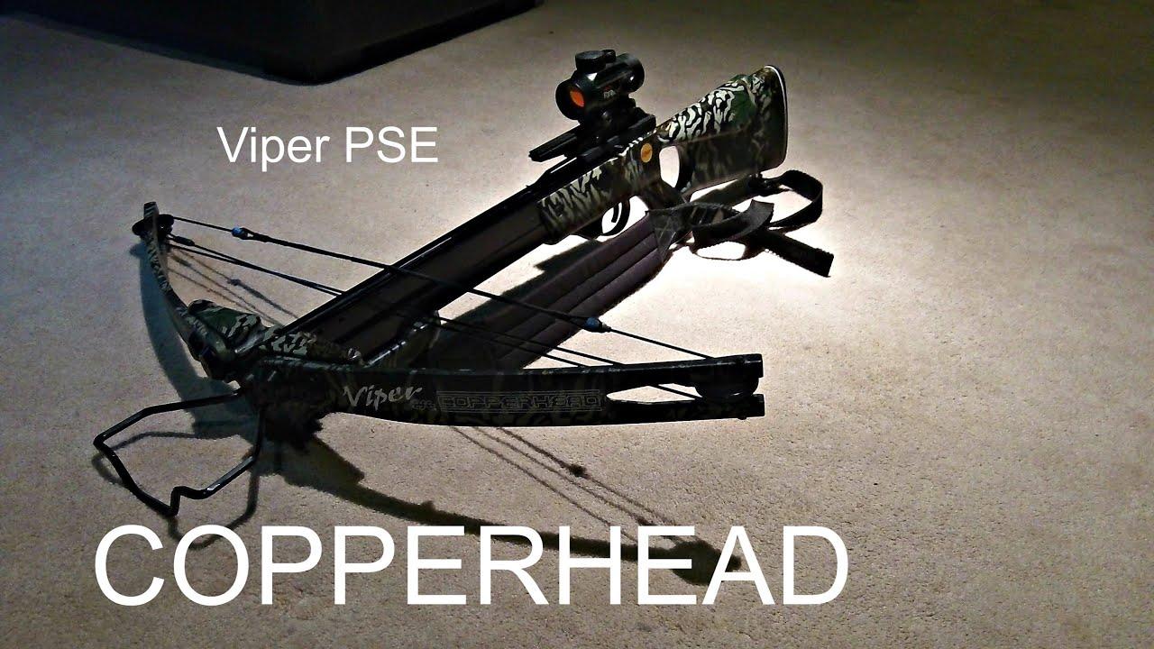 viper pse copperhead crossbow shooting