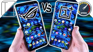 Asus ROG Phone 3 vs OnePlus 8 Pro Speed Test