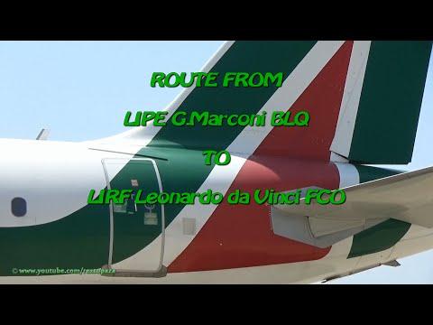 [TRIP] from LIPE G.Marconi BLQ @ LIRF Leonardo da Vinci FCO
