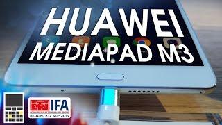 Huawei MediaPad M3: планшет с крутым звуком