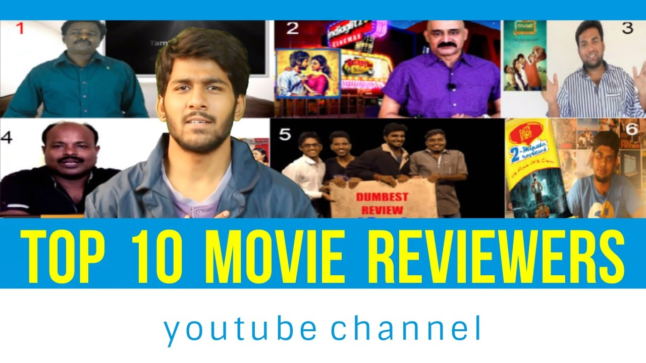 top 10 tamil movie reviewers in youtube youtube. Black Bedroom Furniture Sets. Home Design Ideas
