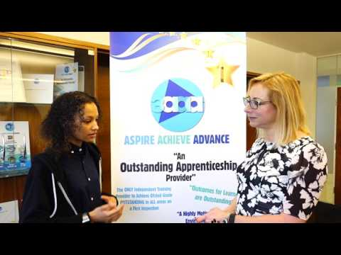 3aaa Apprenticeships - Women in Technology - Aspiring Cyber Security Technician Meets Tracy Pound