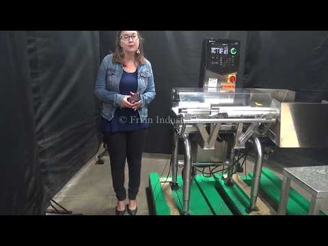 Ishida DACS, automatic, three zone, stainless steel checkweigher
