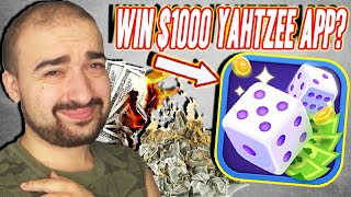 Yatzee App Promises $1000! - Lucky Yatzy App - Paypal Review Youtube Cash Out Payment Proof Legit? screenshot 3