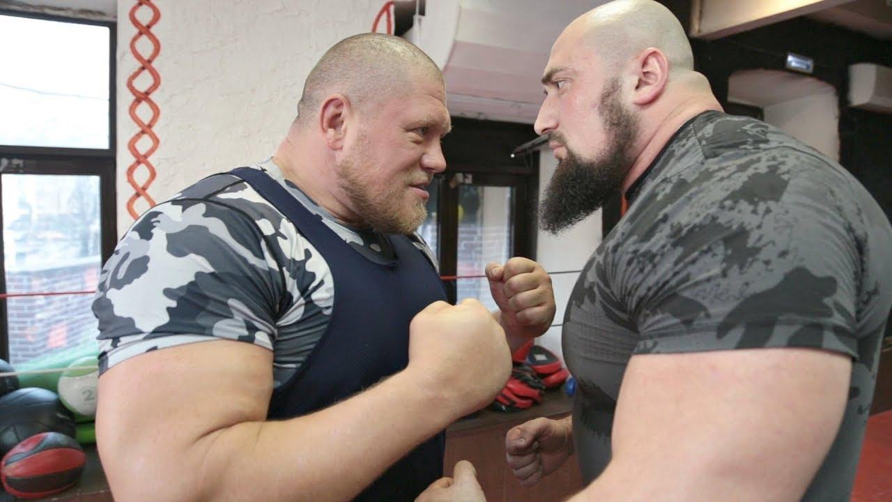 Чеченский Халк vs Макс! Пробил пресс