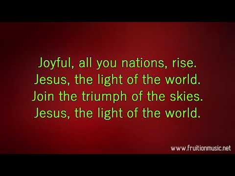 Jesus The Light Of The World (Eb) [Instrumental with Lyrics]
