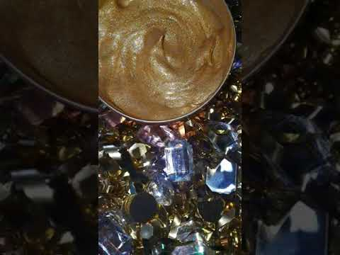 All natural face and body glitter gel highlighters!