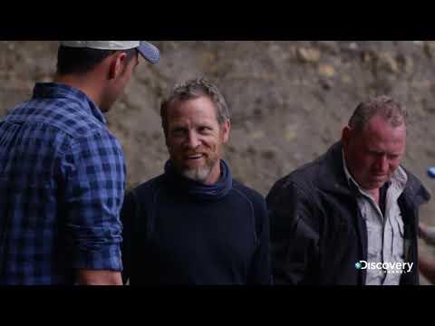 Переправа техники   В поисках сокровищ: змеиный остров   Discovery Channel