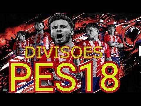 PES18 DIVISÕES ONLINE   QUE TIME CHATO ESSE ATLÉTICO MADRID !\PS3\PS4\PC\ONE