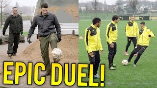 Epic duel: F2 vs. BVB Dortmund featuring Hummels, Aubameyang, Schmelzer...