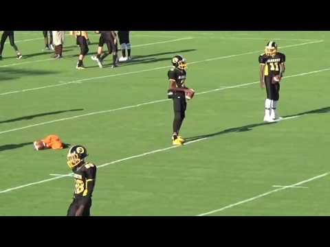 walter simmons III pre game week 2 (2016)