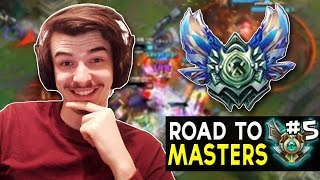DIAMOND PROMOS - Road to Master S7 #5 - League of Legends