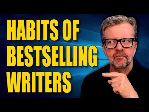 How To Adopt The Habits Of Bestselling Writers