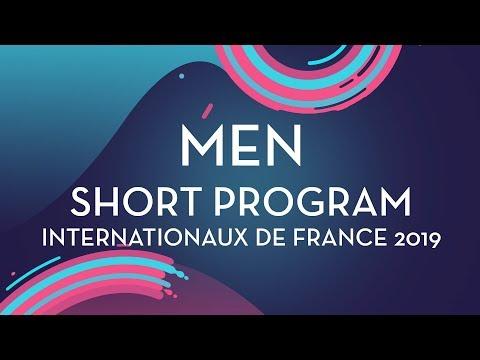 Men Short Program | Internationaux De France 2019 | #GPFigure
